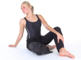 Бодифлекс упражнение «Кренделек»
