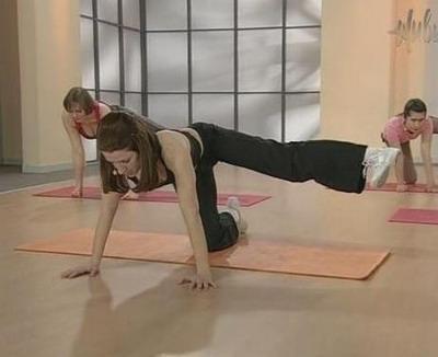 Бодифлекс упражнение «Сейко»