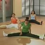 Бодифлекс упражнение «Шлюпка»