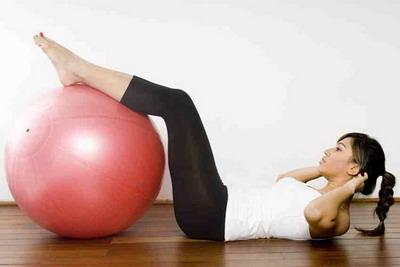 Фитнес – комплекс упражнений для похудения с фитболом