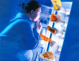 Как отучить себя есть на ночь