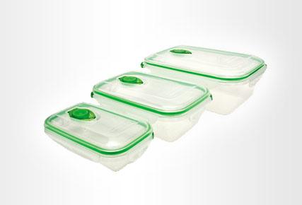 Вакуумные контейнеры – современные тенденции хранения свежих продуктов