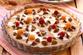 Пирог с инжиром и малиной