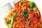 Куриная лапша с овощами